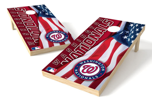Washington Nationals 2x4 Cornhole Board Set - Logo