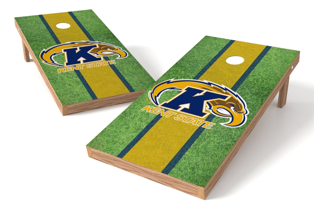 Kent State Gold Eagles 2x4 Cornhole Board Set - Field