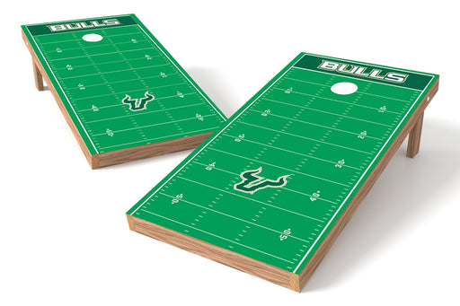 South Florida Bulls 2x4 Cornhole Board Set - Field