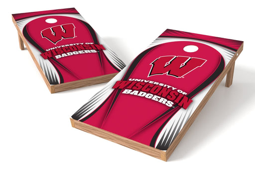 Wisconsin Badgers  2x4 Cornhole Board Set - Drop