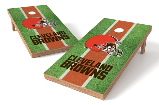 Cleveland Browns 2x4 Cornhole Board Set - Field