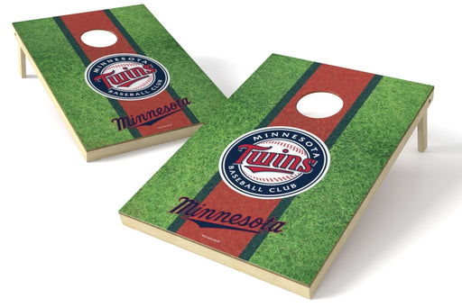Minnesota Twins 2x3 Cornhole Board Set - Field