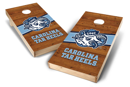 North Carolina Tar Heels 2x4 Cornhole Board Set - Logo