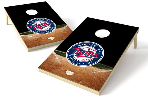 Minnesota Twins 2x3 Cornhole Board Set - Home Plate