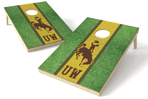 Wyoming 2x3 Cornhole Board Set - Field
