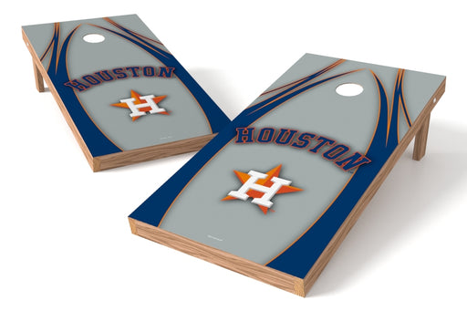Houston Astros 2x4 Cornhole Board Set - Edge