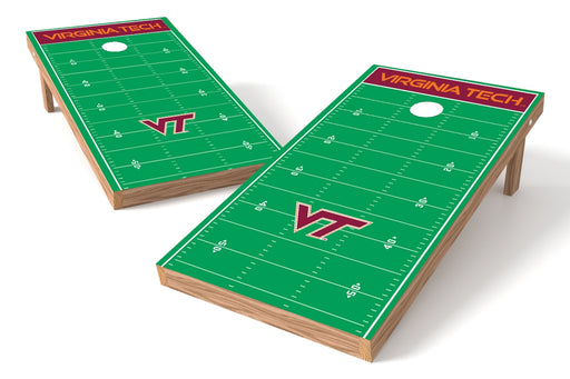 Virginia Tech Hokies 2x4 Cornhole Board Set - Field