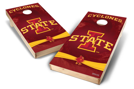 Iowa State Cyclones 2x4 Cornhole Board Set - Wild