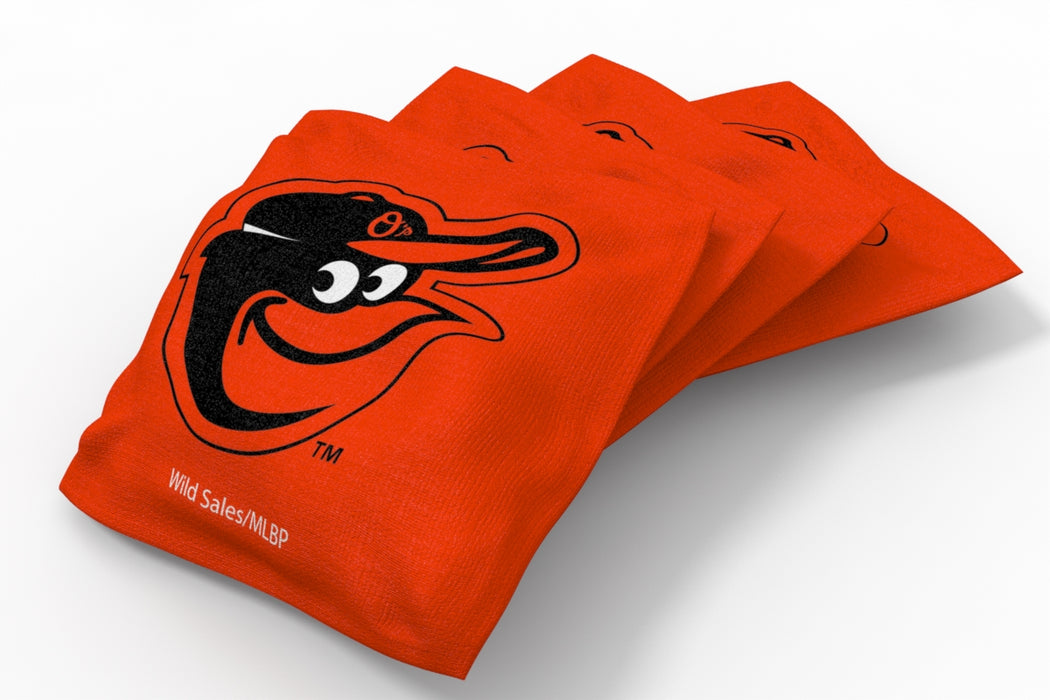 Baltimore Orioles 2x4 Cornhole Board Set - Field