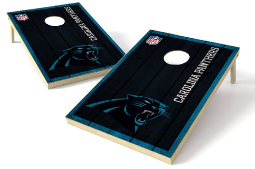 Carolina Panthers 2x3 Cornhole Board Set - Vintage