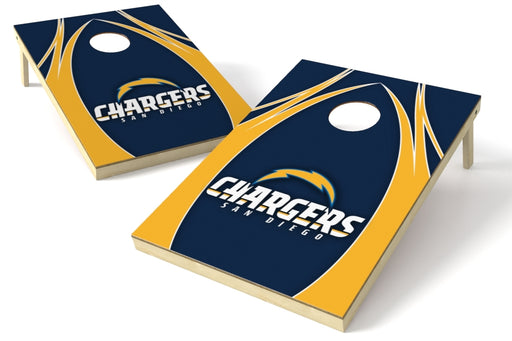 Los Angeles Chargers 2x3 Cornhole Board Set