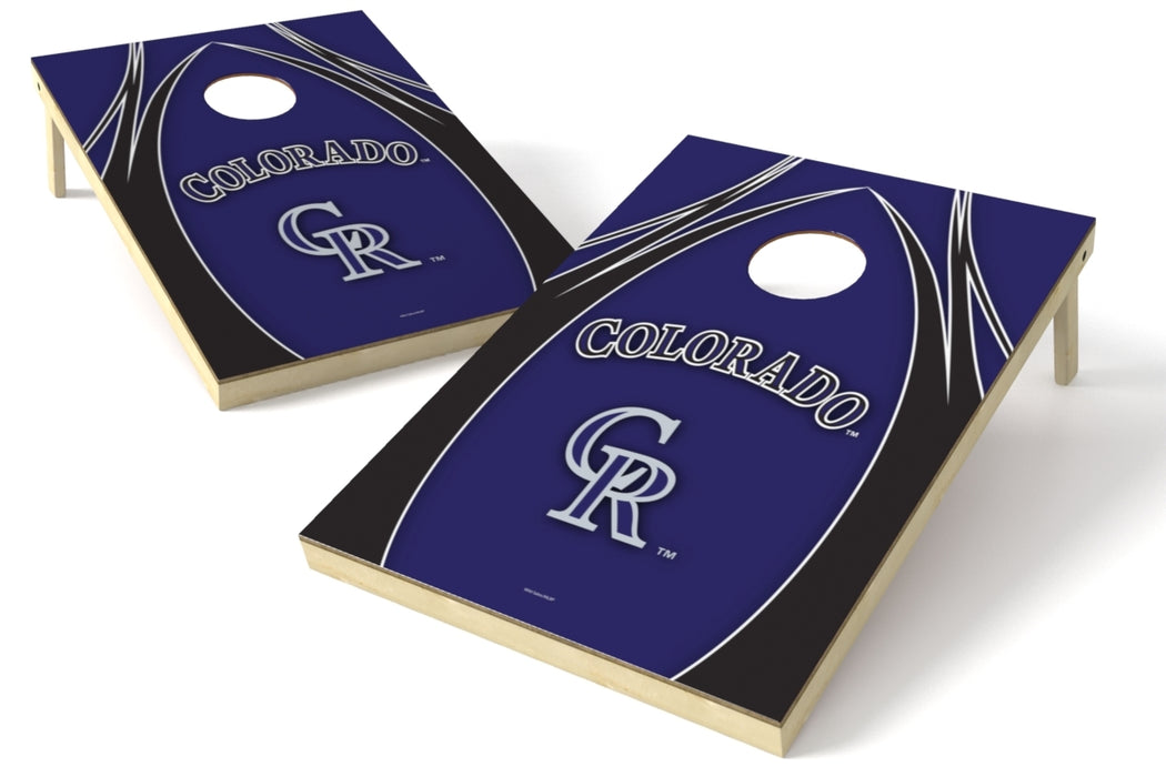 Colorado Rockies 2x3 Cornhole Board Set