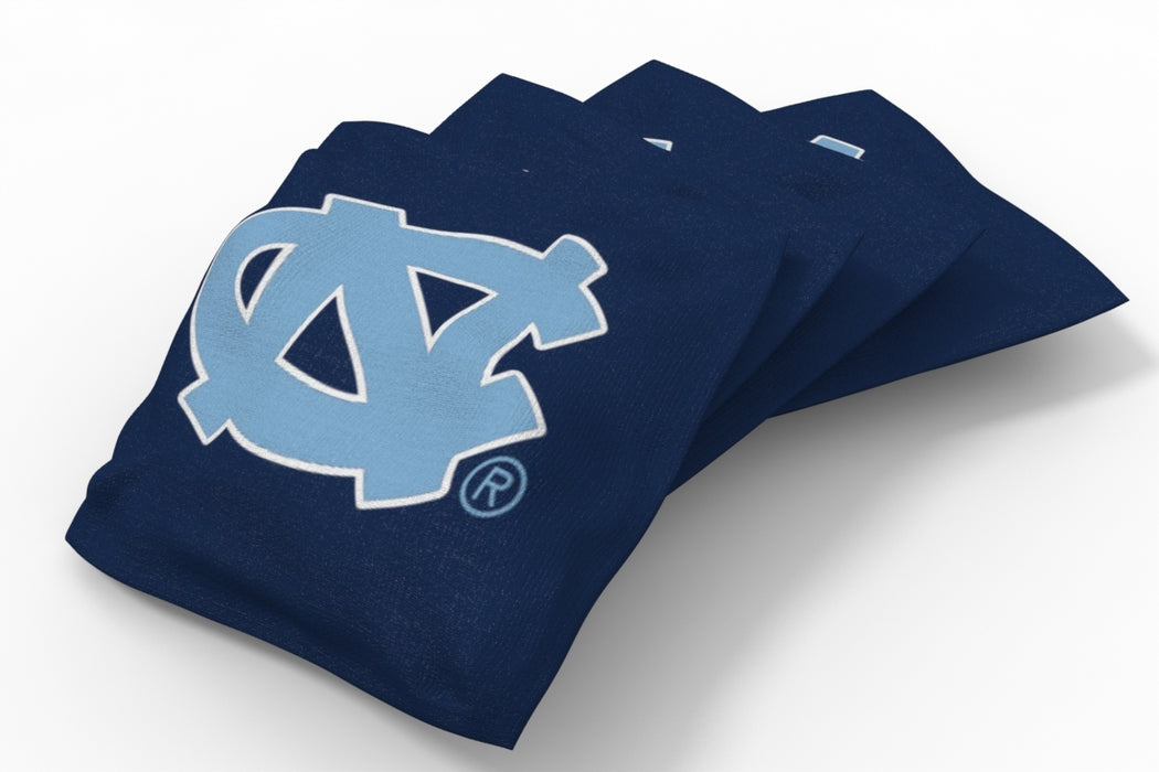 North Carolina Tar Heels 2x4 Cornhole Board Set - Plate