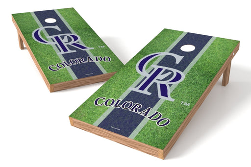 Colorado Rockies 2x4 Cornhole Board Set - Field