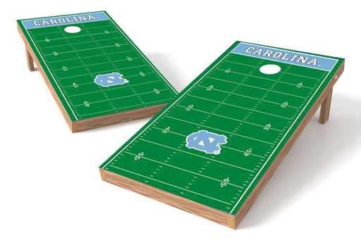 North Carolina Tar Heels 2x4 Cornhole Board Set - Field