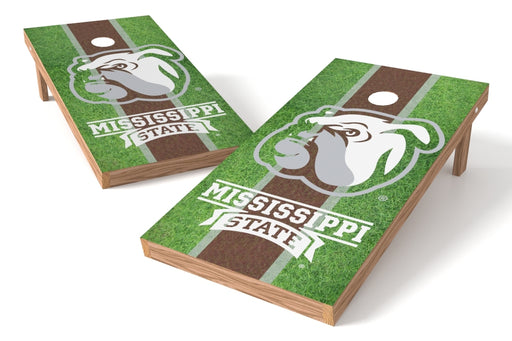 Mississippi State Bulldogs 2x4 Cornhole Board Set - Field