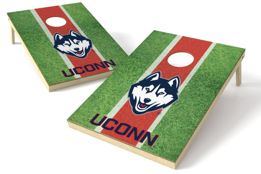 Connecticut Huskies 2x3 Cornhole Board Set - Field