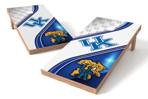Kentucky Wildcats 2x4 Cornhole Board Set - Swirl