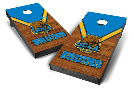 UCLA Bruins 2x4 Cornhole Board Set Onyx Stained - Uniform