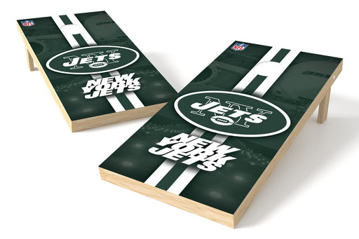 New York Jets 2x4 Cornhole Board Set - Logo