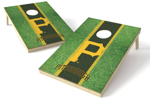 Pittsburgh Pirates 2x3 Cornhole Board Set - Field