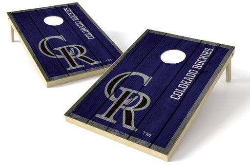 Colorado Rockies 2x3 Cornhole Board Set - Vintage