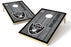 Oakland Raiders 2x3 Cornhole Board Set - Vintage