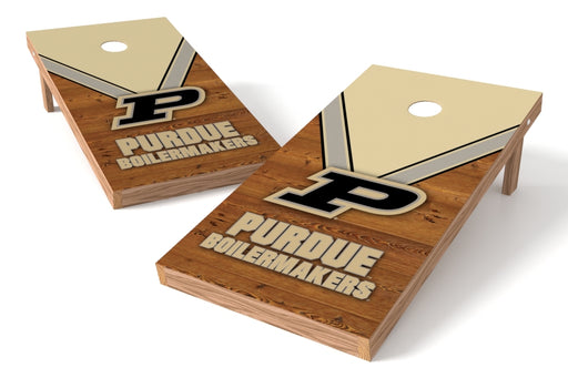 Purdue Boilermakers 2x4 Cornhole Board Set - Uniform