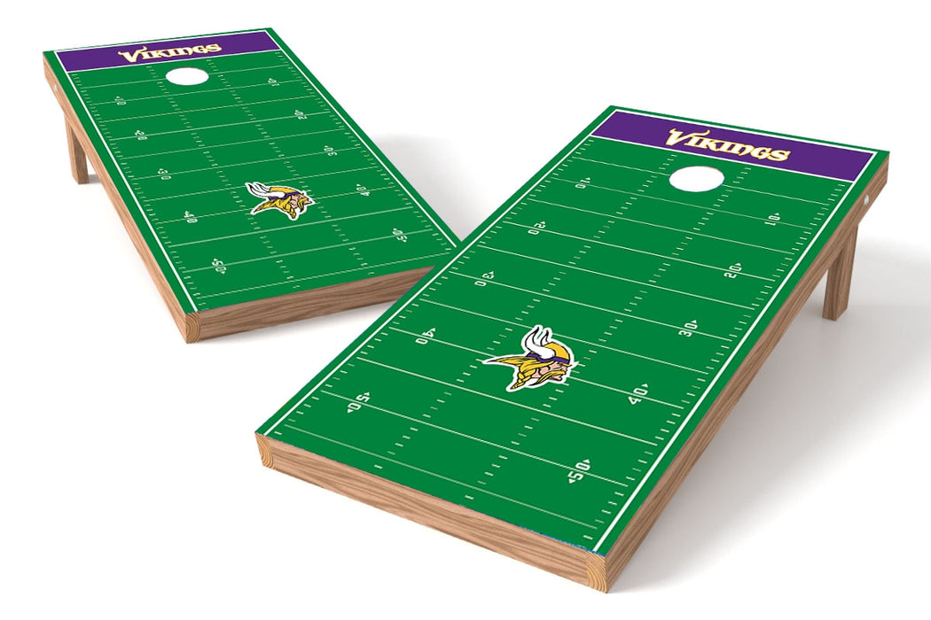 Minnesota Vikings 2x4 Cornhole Board Set - Field