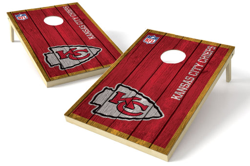 Kansas City Chiefs 2x3 Cornhole Board Set - Vintage