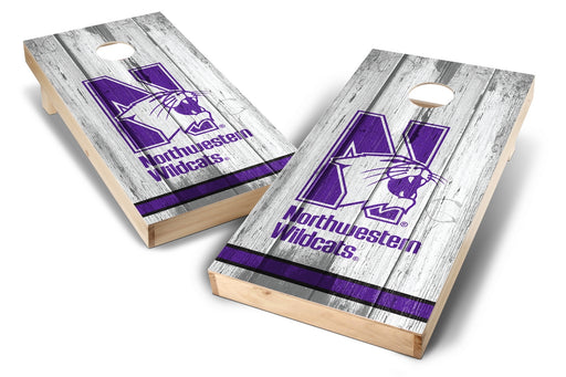 Northwestern Wildcats 2x4 Cornhole Board Set - Vintage