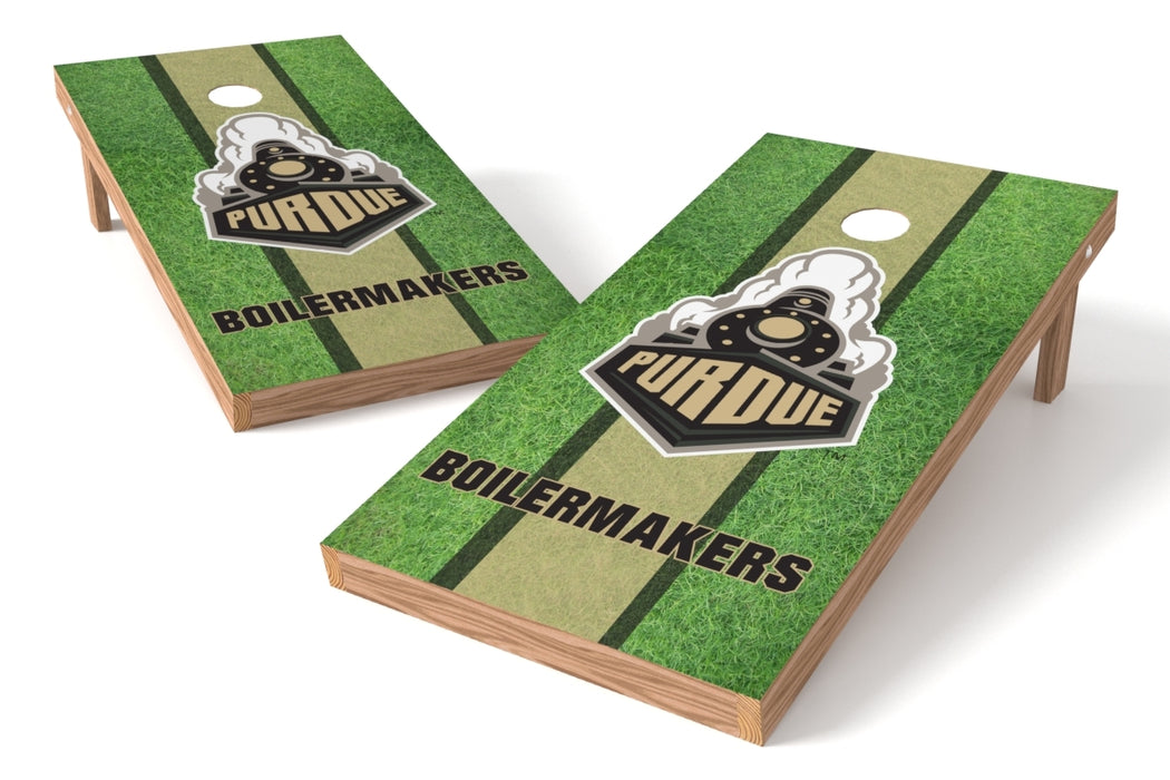Purdue Boilermakers 2x4 Cornhole Board Set - Field