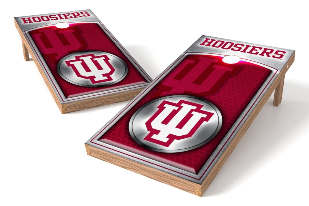 Indiana Hoosiers 2x4 Cornhole Board Set - Medallion