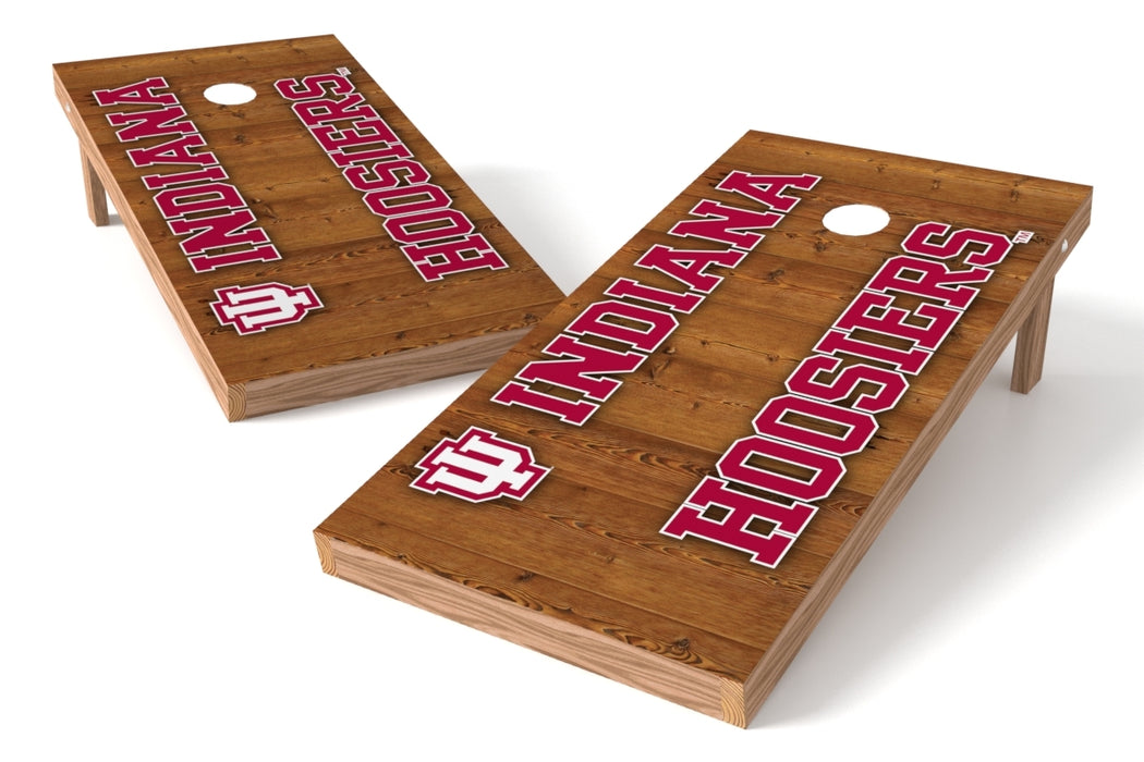 Indiana Hoosiers 2x4 Cornhole Board Set - Vertical