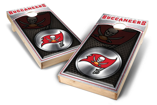 Tampa Bay Buccaneers 2x4 Cornhole Board Set - Medallion