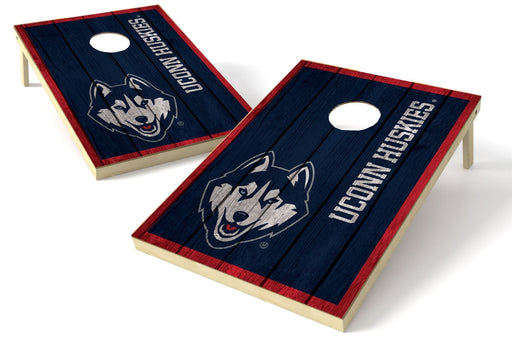 Connecticut Huskies 2x3 Cornhole Board Set - Vintage