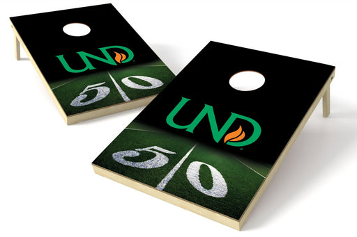 North Dakota 2x3 Cornhole Board Set - 50 Yard Line