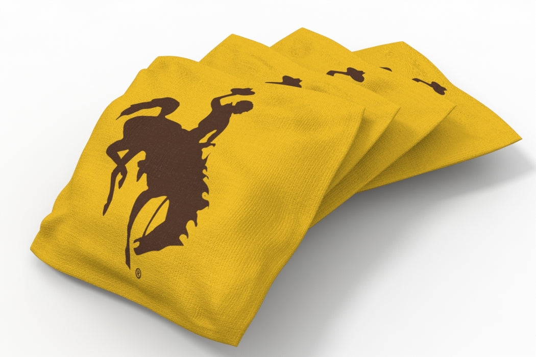 Wyoming Cowboys 2x4 Cornhole Board Set - Vintage