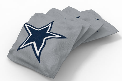 Dallas Cowboys Solid Bean Bags - 4pk