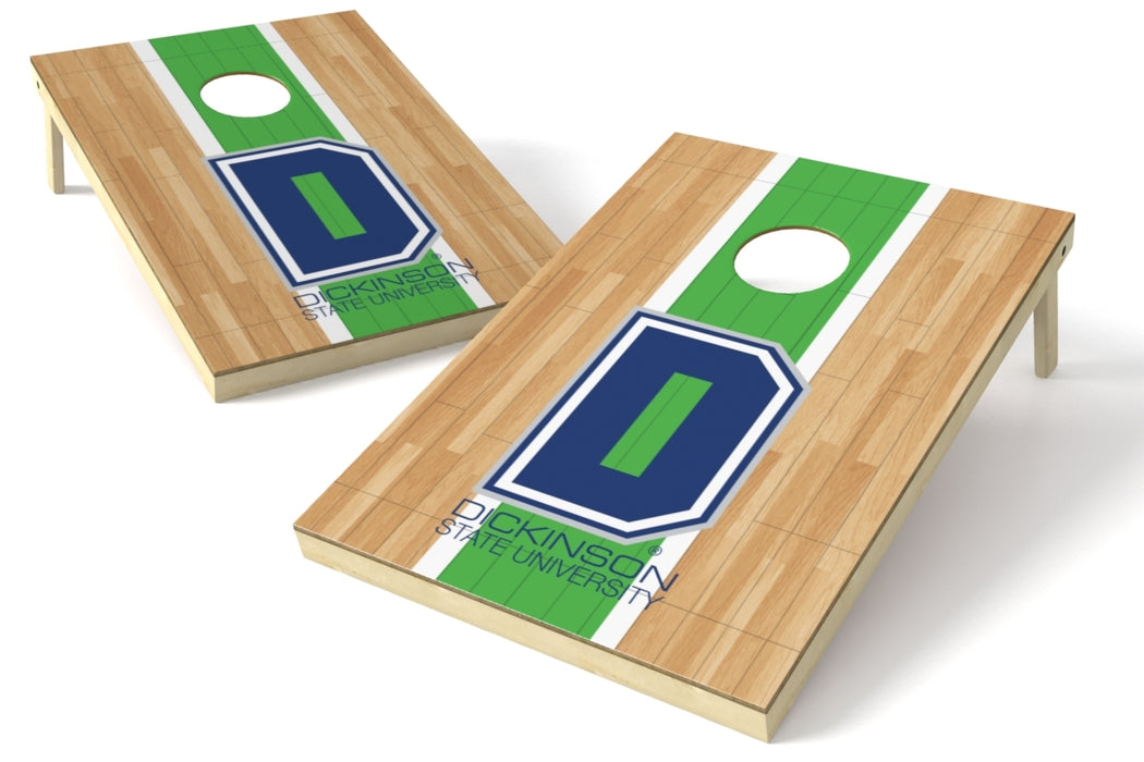 Dickinson State 2x3 Cornhole Board Set - Hardwood