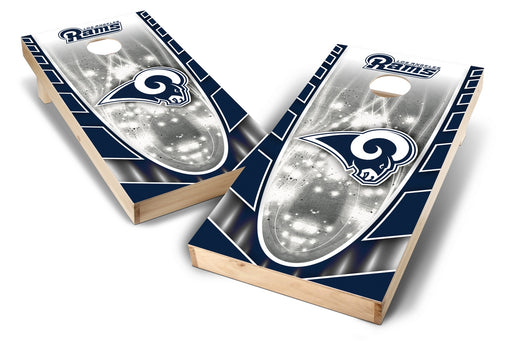 Los Angeles Rams 2x4 Cornhole Board Set - Hot