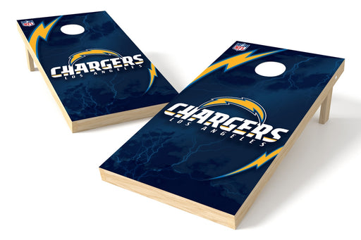 Los Angeles Chargers 2x4 Cornhole Board Set - Logo