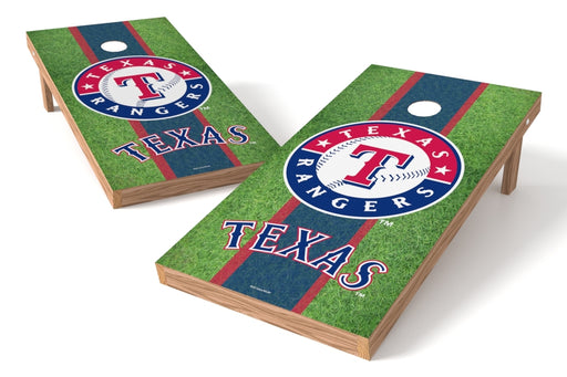 Texas Rangers 2x4 Cornhole Board Set - Field