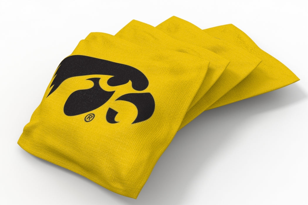 Iowa Hawkeyes 2x4 Cornhole Board Set - Swirl