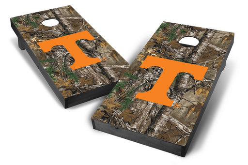 Tennessee Volunteers 2x4 Cornhole Board Set Onyx Stained - Xtra Camo