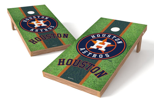 Houston Astros 2x4 Cornhole Board Set - Field