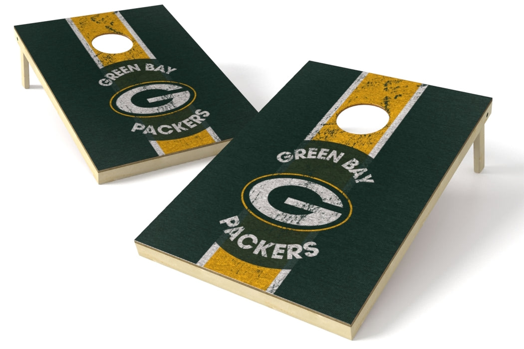 Green Bay Packers 2x3 Cornhole Board Set - Heritage