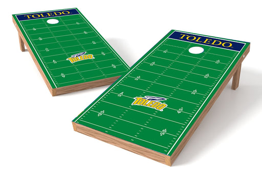 Toledo Rockets 2x4 Cornhole Board Set - Field