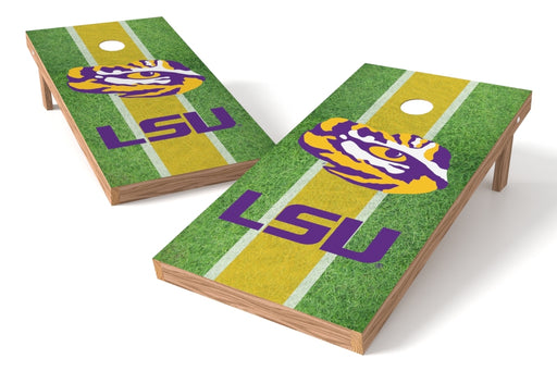 Louisiana State Tigers 2x4 Cornhole Board Set - Field