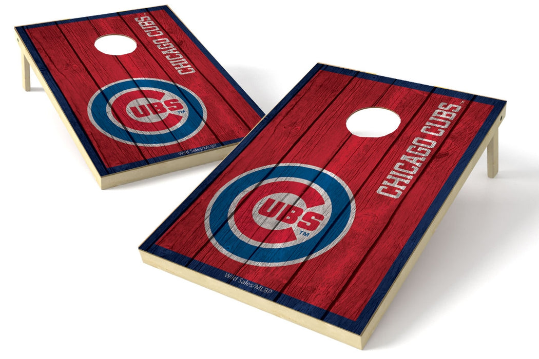 Chicago Cubs 2x3 Cornhole Board Set - Vintage